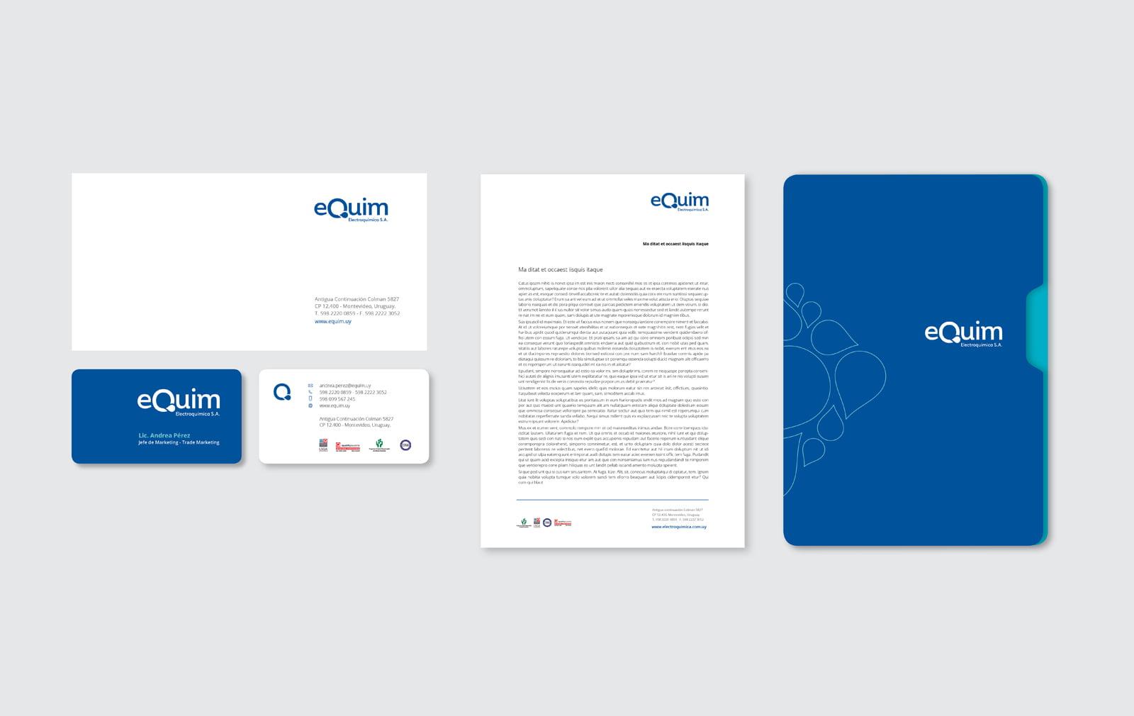 Cliente: ELECTROQUIMICA SA. Naming e identidad visual