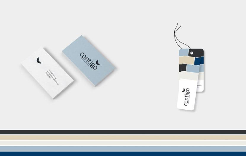 Cliente: CONTIGO. Identidad visual
