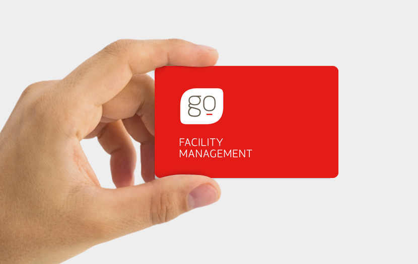Cliente: GO FACILITY MANAGEMENT. Identidad visual