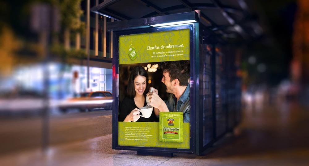 Cliente: HORNIMANS. Diseño de producto y campaña