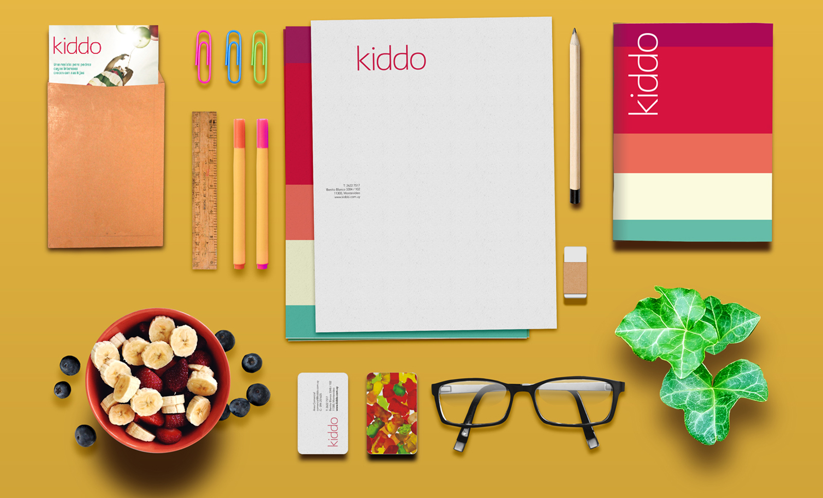Cliente: KIDDO. Identidad visual