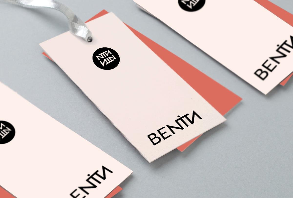 Cliente: BENITA. Identidad visual