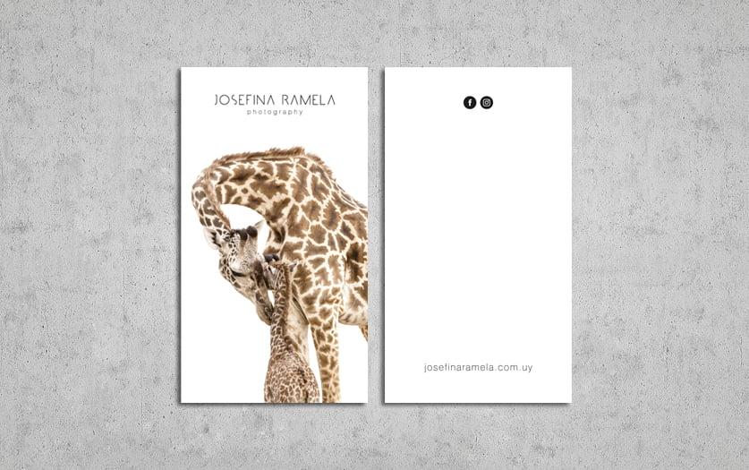 Cliente: JOSEFINA RAMELA. Identidad visual, digital y comunicación
