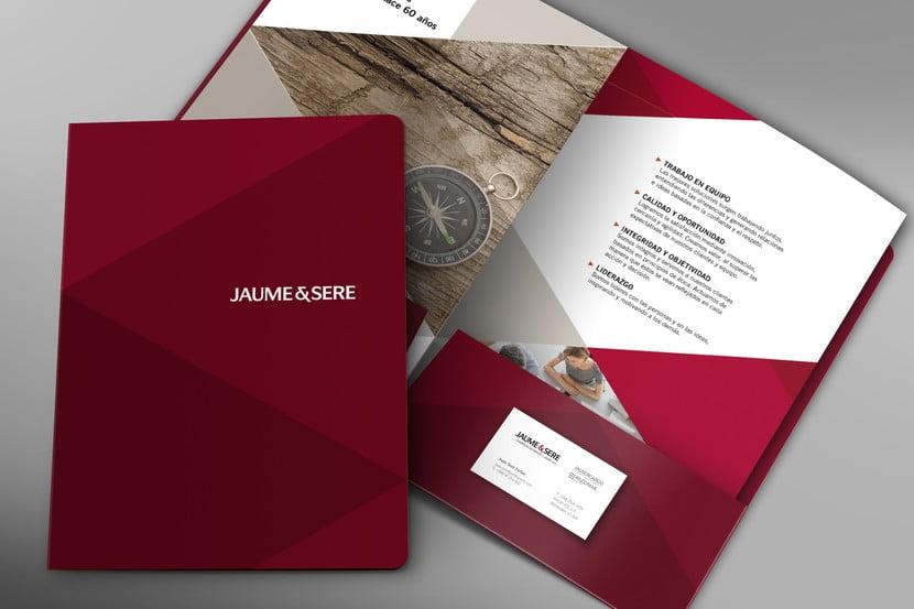 Cliente: JAUME Y SERÉ. Identidad visual