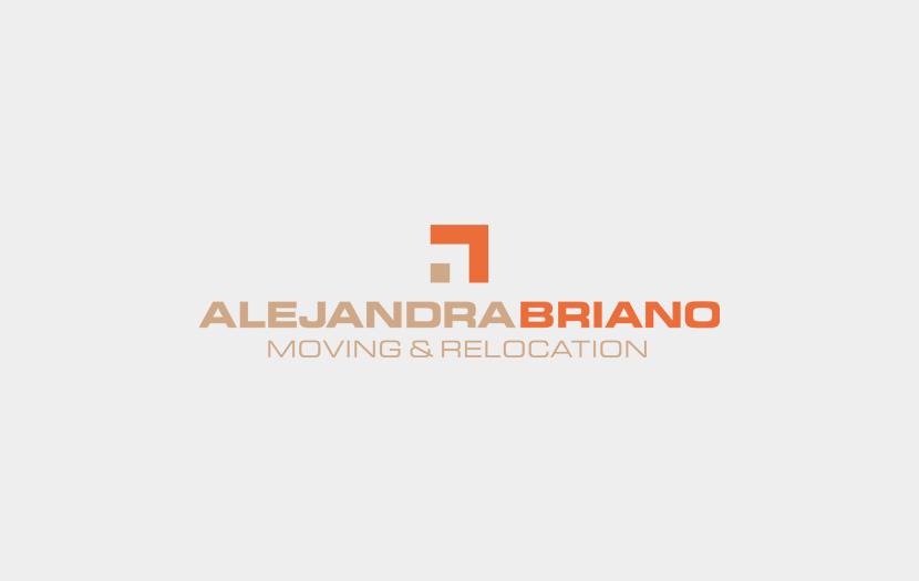 Cliente: ALEJANDRA BRIANO. Identidad visual