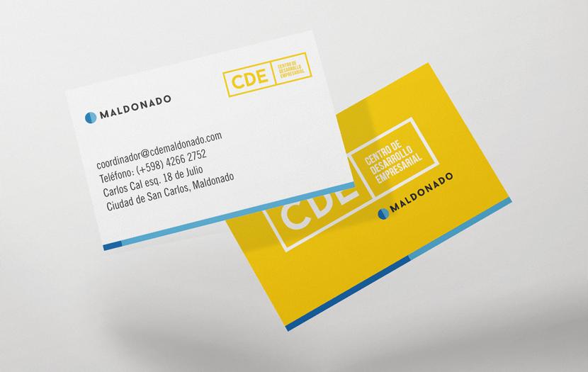 Cliente: CDE. Imagen corporativa