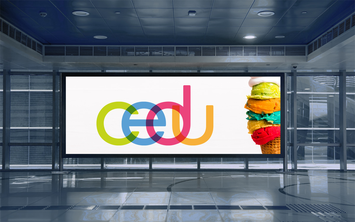Cliente: CEDU. Isologotipo e identidad gráfica
