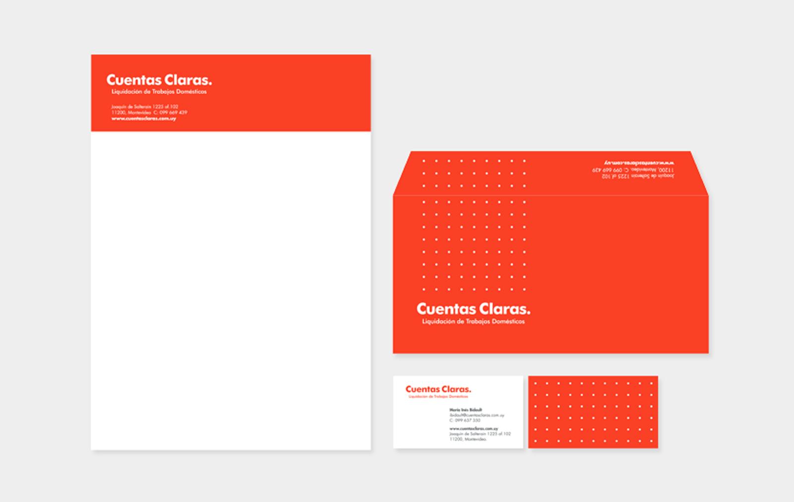 Cliente: CUENTAS CLARAS. Identidad visual