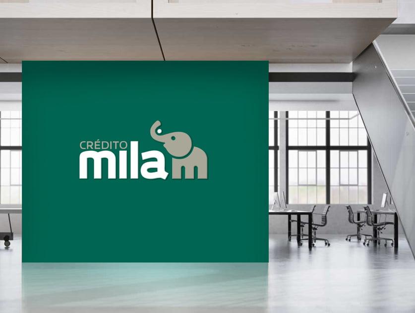 Cliente: CRÉDITO MILA. Identidad visual, digital y comunicación