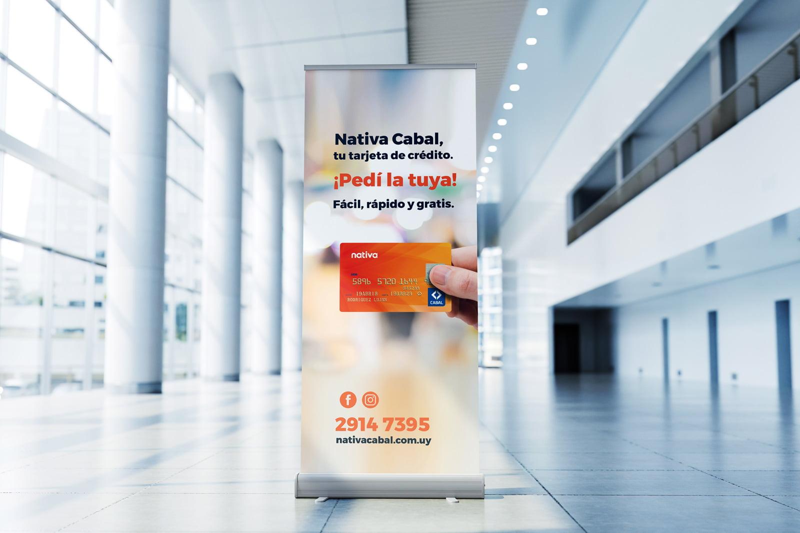 Cliente: NATIVA CABAL. Identidad visual, digital y comunicación