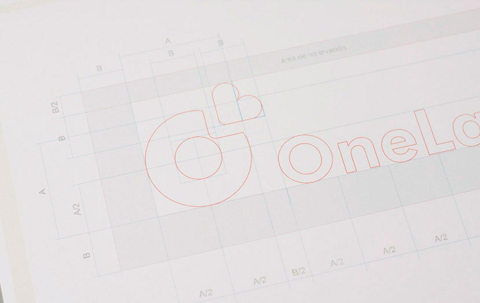 Cliente: ONELAB. Identidad visual