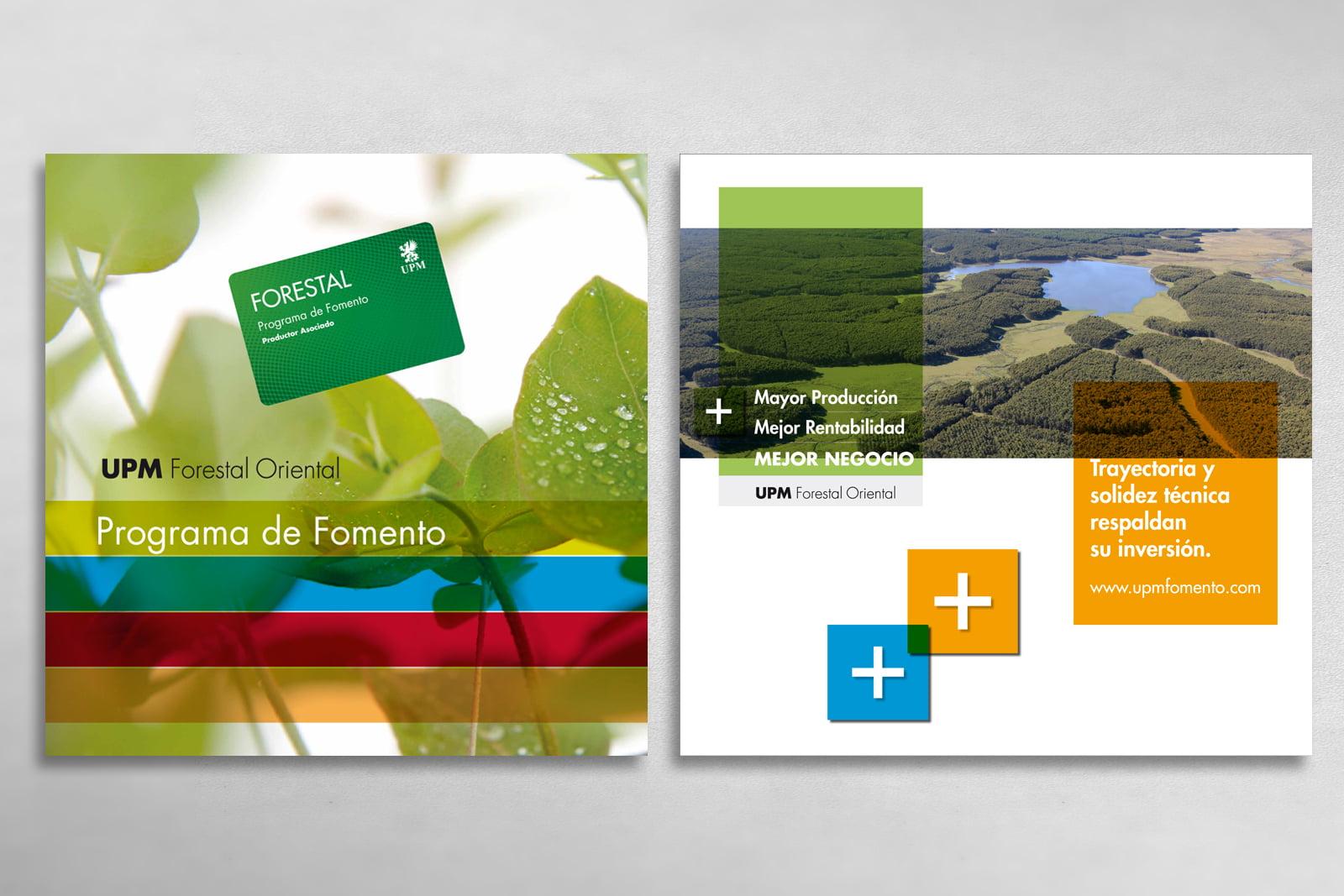 Cliente: UPM Forestal Oriental. Campaña Tarjeta Forestal